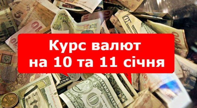 Курс валют: долар та эвро не припиняють ріст