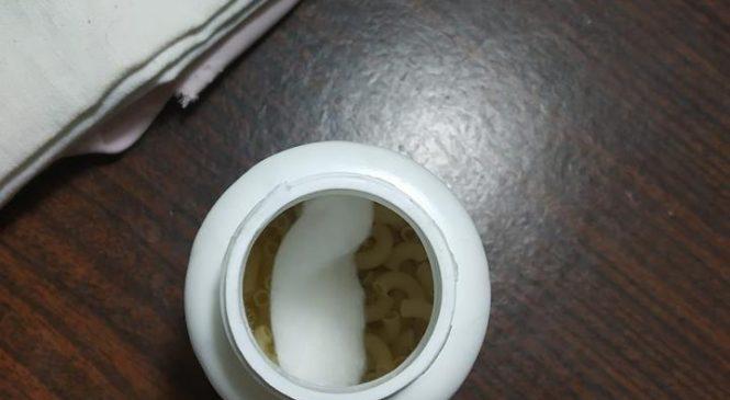 Фотофакт: запорожанка приобрела в аптеке макароны за 234 грн