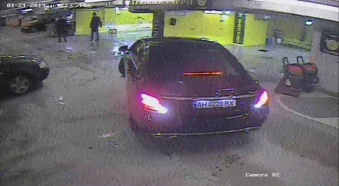 В Запорожье разыскали нападавшего на сотрудника автомойки (Фото, видео)