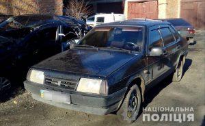 В Запорожской области пьяный мужчина угнал чужое авто (Фото)