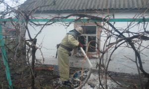 В Запорожской области мужчина погиб в пожаре