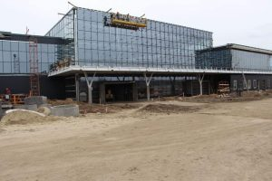 Строительство терминала Запорожского аэропорта выполнено на 80% (Фото)