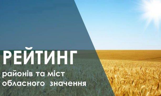Среди городов и районов Запорожской области по результатам рейтинга развития названы лидеры и аутсайдеры (Список)