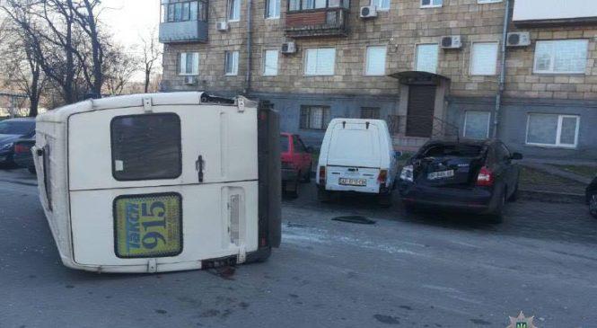 Появились подробности утреннего ДТП с маршруткой и внедорожником в Запорожье: опубликованы фото