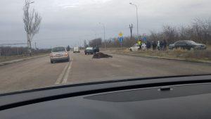 Появились подробности утреннего ДТП в Запорожье, в котором сбили животное