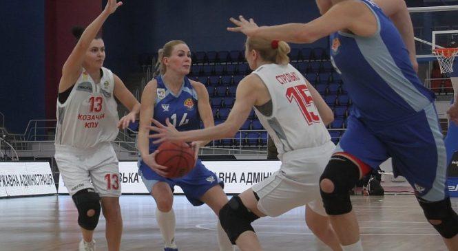 Жіноча баскетбольна Суперліга: в Бердянську «Чайка» перемогла «Козачку»