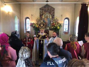 На Благовещение в Запорожье приехал предстоятель Украинской епархии Армянской Апостольской Церкви