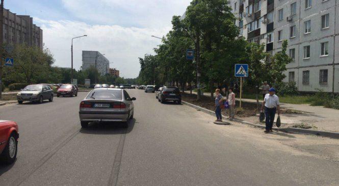 В Енергодарі «євробляхер» збив жінку на пішохідному переході