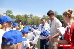 В Запорожье прошел открытый урок футбола с Шовковским и Белановым (ФОТОРЕПОРТАЖ)