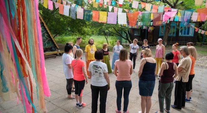 В Запорожье прошел пятый Фестиваль ПРАНА weekend на острове Байда